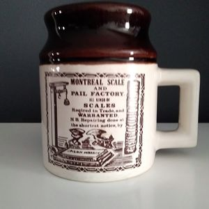 Abenakis Pottery Mug Vintage '70's